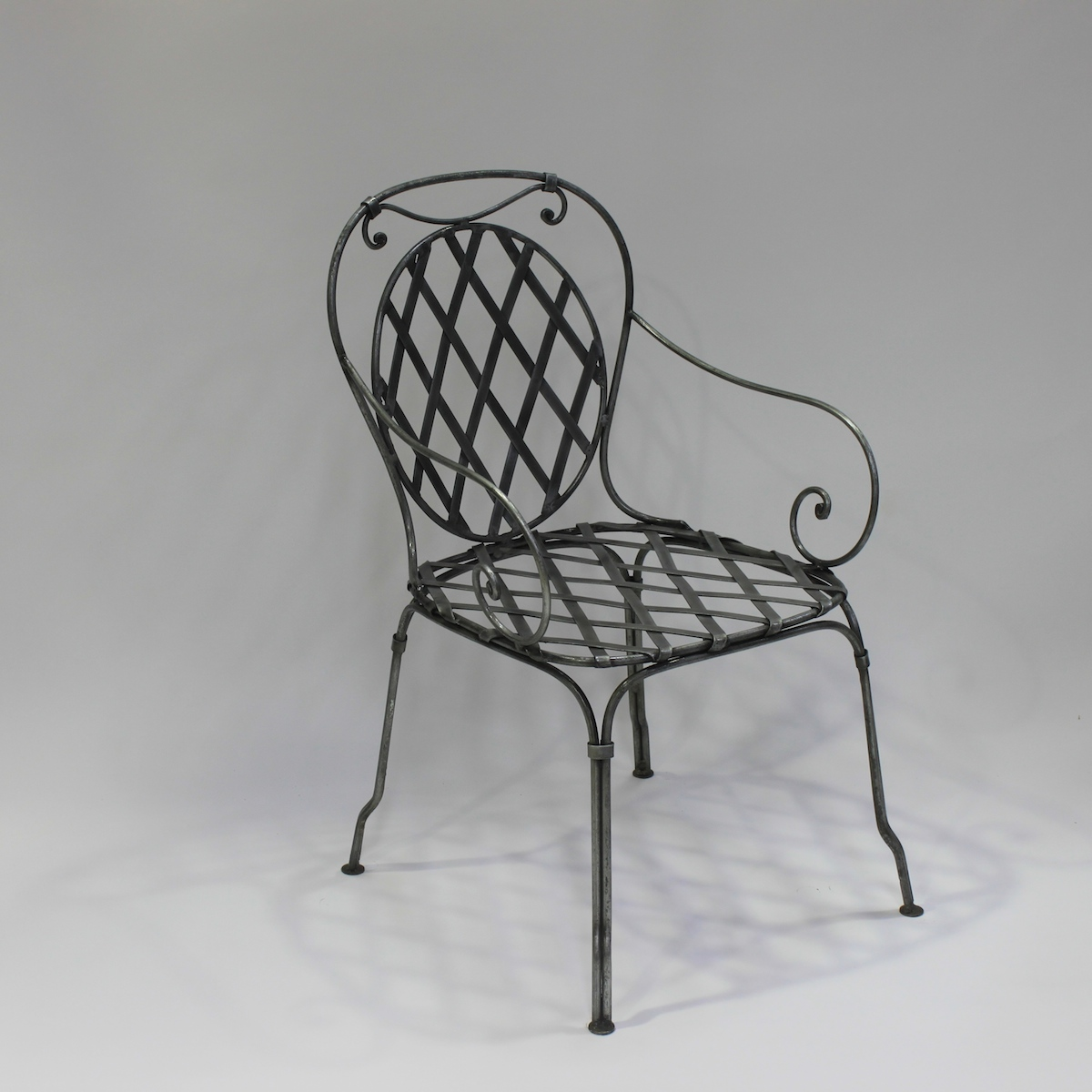 Chair French Steel Le Forge Marsellie
