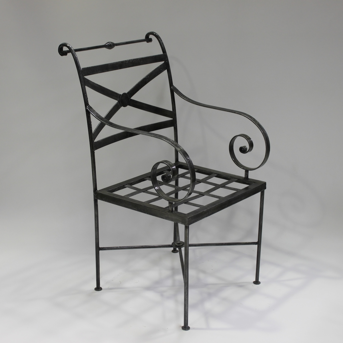 Chair French Steel Le Forge Napoli Craver