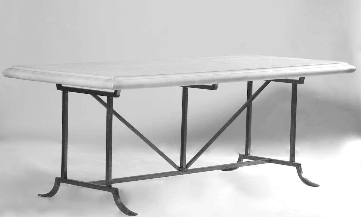 Tables Barcelona Table Base 6 8 Hand Forged Steel