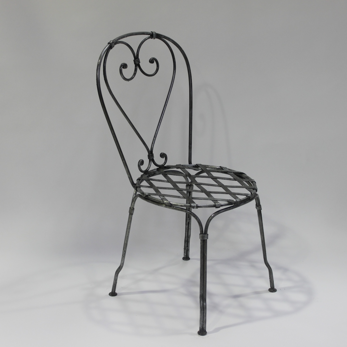 furniture metal. Chair French Steel Le Forge Bistro Furniture Metal A