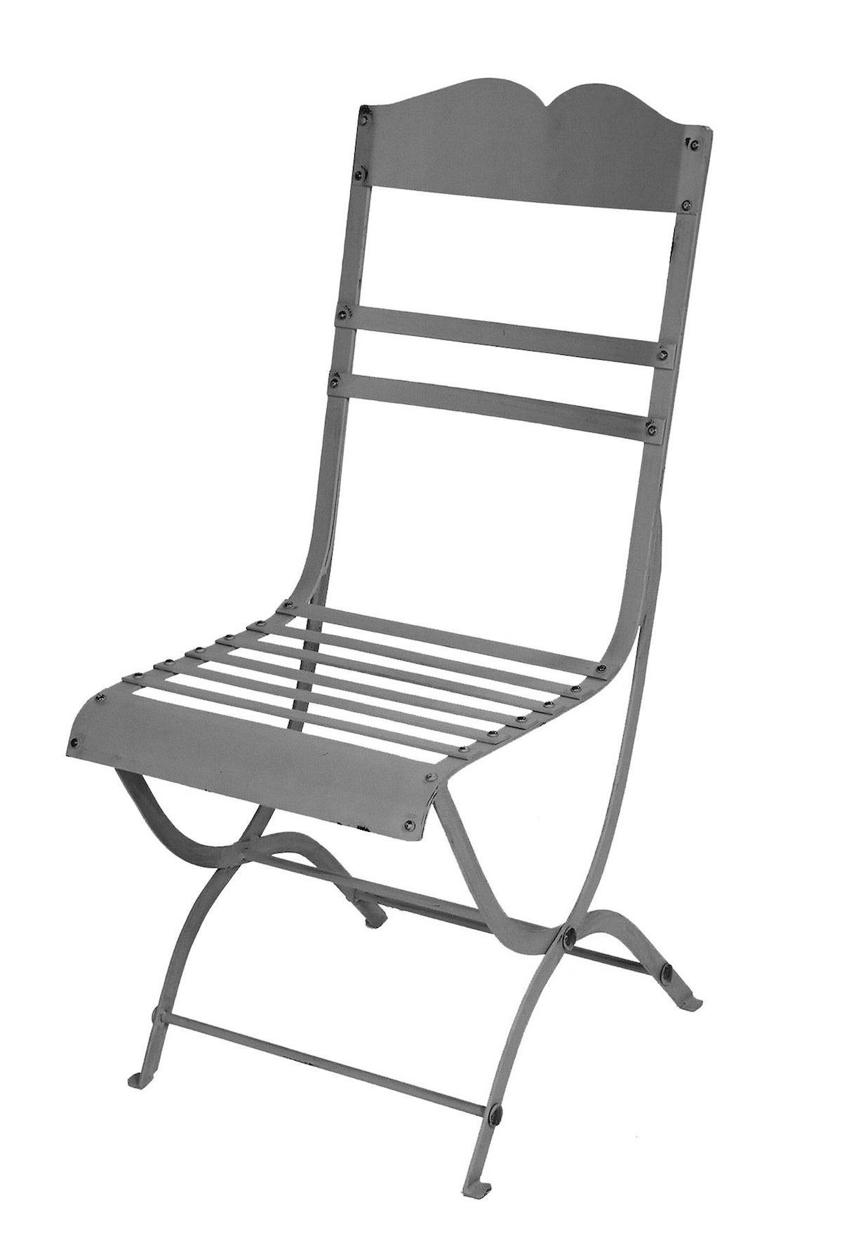 Chair Steel Outdoor Garden French Provincial Le Forge