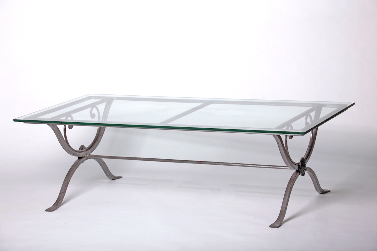 Furniture for French glass coffee table