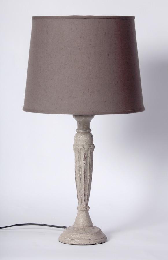 lighting marais wooden lamp base. Black Bedroom Furniture Sets. Home Design Ideas