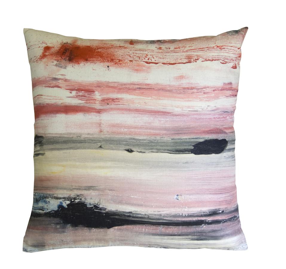 Decoration cushion maison levy horizon for Au maison cushion