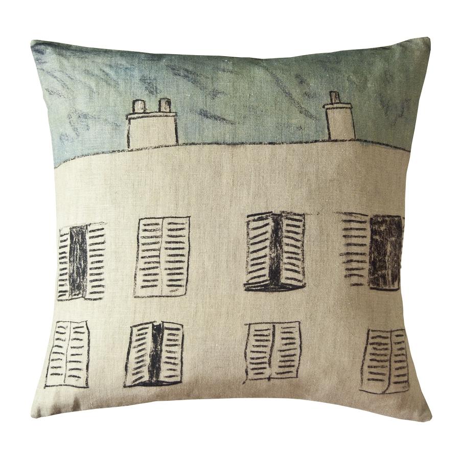 Decoration cushion maison levy arcole for Au maison online shop