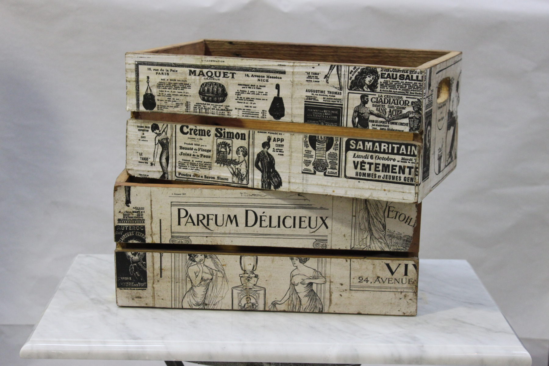 Charmant Homewares And Accessories French Newspaper Box