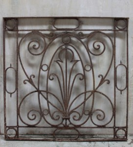 Decorative Panel French Outdoor Steel Garden Le Forge