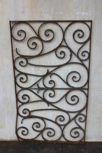 Panel Decorative Outdoor Garden French Le Forge