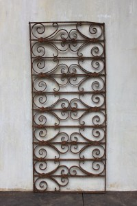 Panel Outdoor European Garden Iron French-Le Forge
