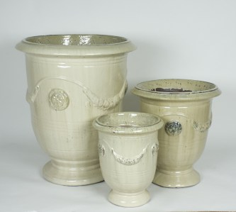 Anduze-garden-pot-cream-LeForge-Furniture-Willoughby-Sydney-Outdoor. ST 3370 -jpg