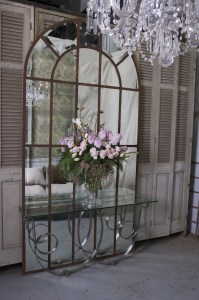 Mirror Arched Panel French Provincial Le Forge