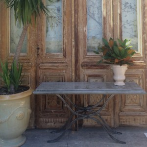 Arles-console-outdoors-steel-galvanised-french-leforge-furniture-decoration-sydney3