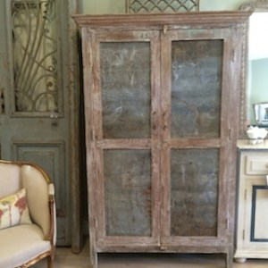 Cabinet-armoire-teak-zinc-leforge-furniture-decoration-sydney