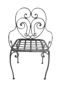Chair Steel French Leforge Outdoors Garden