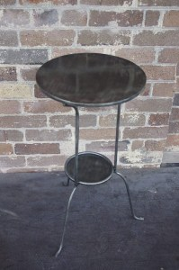 French Sidetable Table Outdoor Galvanised Le Forge