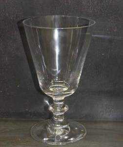 French-wine-goblet-clearglass-fine-crystal-leforge-furniture-decoration-sydney