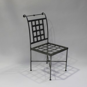 Chair French Steel Le Forge Genoa