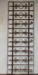 European Panel French Outdoors Iron Decorative Le Forge