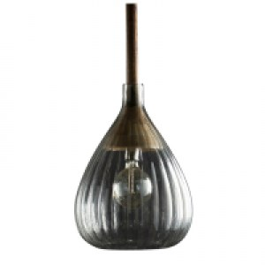 LeForge-Stanmore-Glass-wood-pendant-light-Australia
