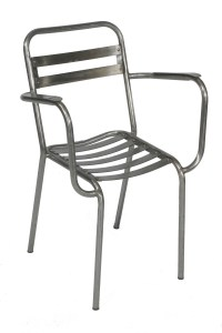 Chair Craver Steel French Leforge Outdoors Garden