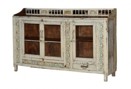 Vintage Sideboard Distressed Le Forge
