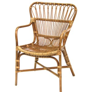 Cane Relax Summer Armchair Le Forge