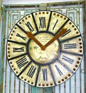 Clock Decorative Wall French Provincial Le Forge