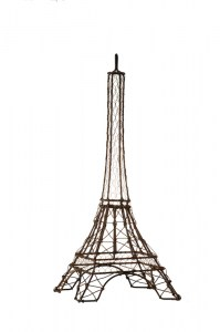 Eiffle Tower Decorative Wire French Provincial Le Forge