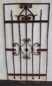 European Panel Garden Decorative French Le Forge Outdoor