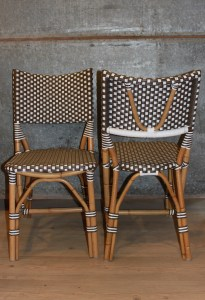 French Cafe Cane Chair Provincial Le Forge