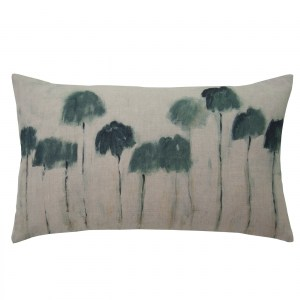 Maison Levy French Linen Cushion 50 x 30cm Le Forge