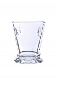Water Glass Drink Bee French Le Forge