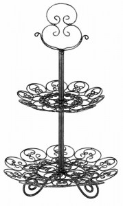 Wire Cake Stand French Hightea Le Forge