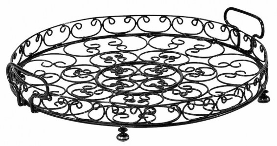Wire Cake Stand Tray French Hightea Le Forge