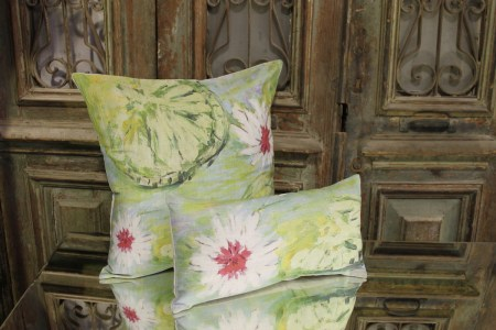 Genevieve Levy French Linen Cushion Le Forge