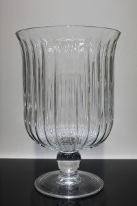 French Glass Vase Provincal Le Forge