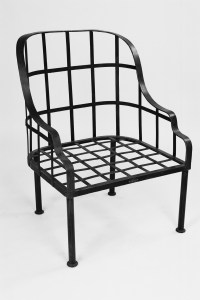 Alfresco Steel LaSpezia ArmChair Galvanised Outdoor French Provincial LeForge