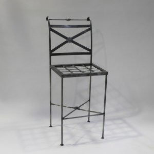 Barstool Steel French Provincial Le Forge
