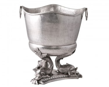 Pewter Winer Cooler Bucket French Le Forge