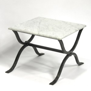 Steel French Provincial Sidetable Outdoor
