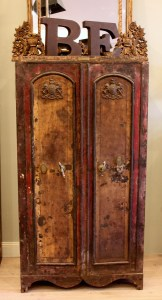 Vintage Safe Armoire Le Forge