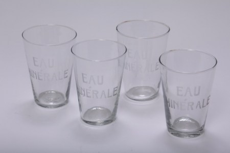 Drinking Glass Water French Le Forge