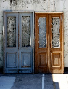 Wooden Entry Doors European French Provincial Le Forge