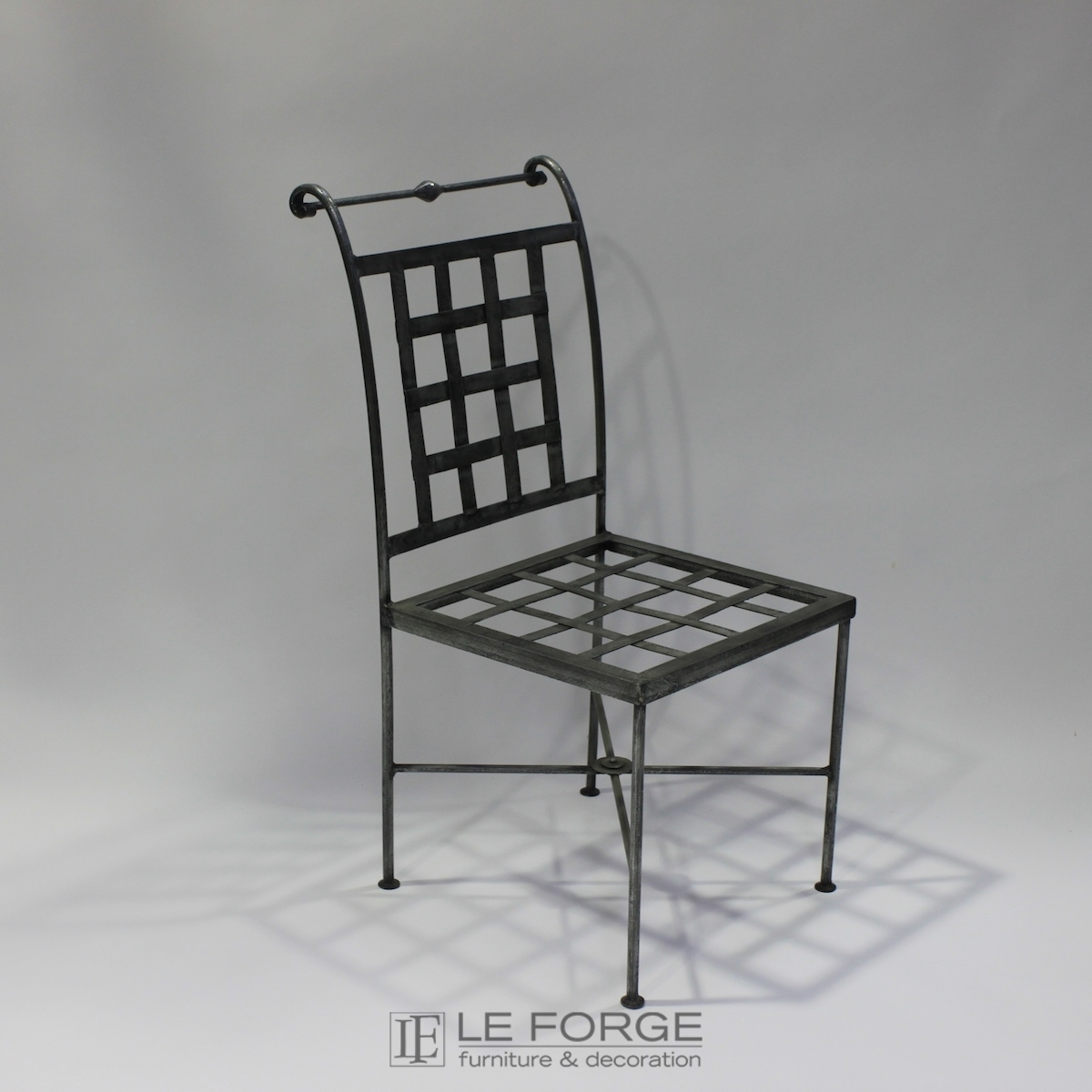 furniture metal. Chair French Steel Le Forge Genoa Furniture Metal N
