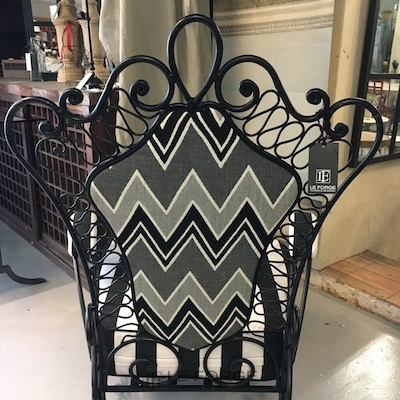 Furniture Sicily Resort Chair Steel Wrought Iron