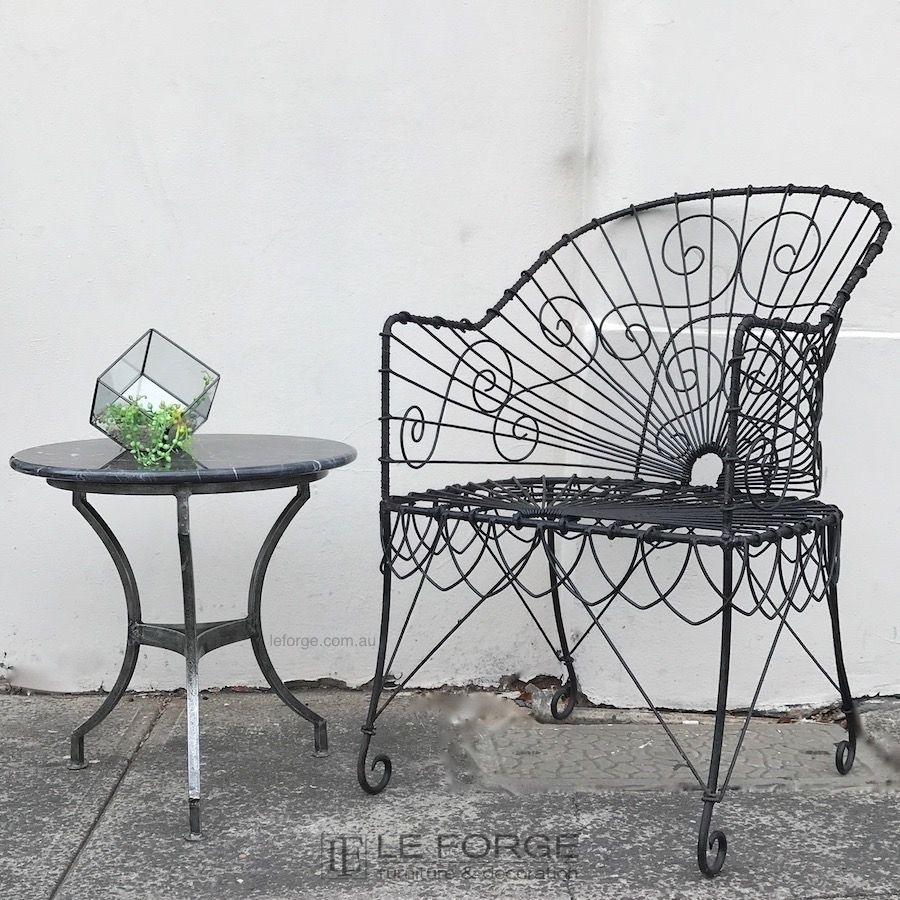 wire furniture. Wire Furniture. Wire-tub Chair-indoor-french Leforge-.jpg Furniture I