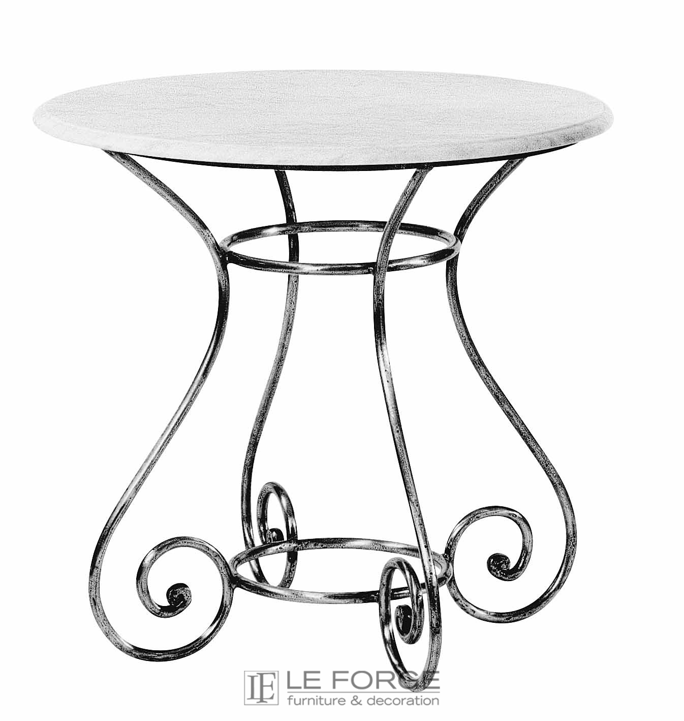 Tables Barney S Table Base Small Steel Wrought Iron