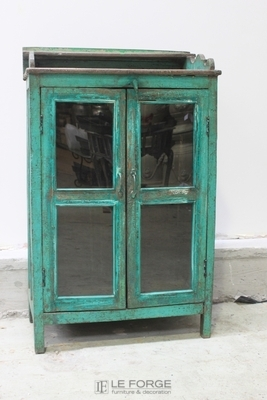 Distressed-2 Door-Cabinet-Display-French-Le Forge-jpg.jpg_product
