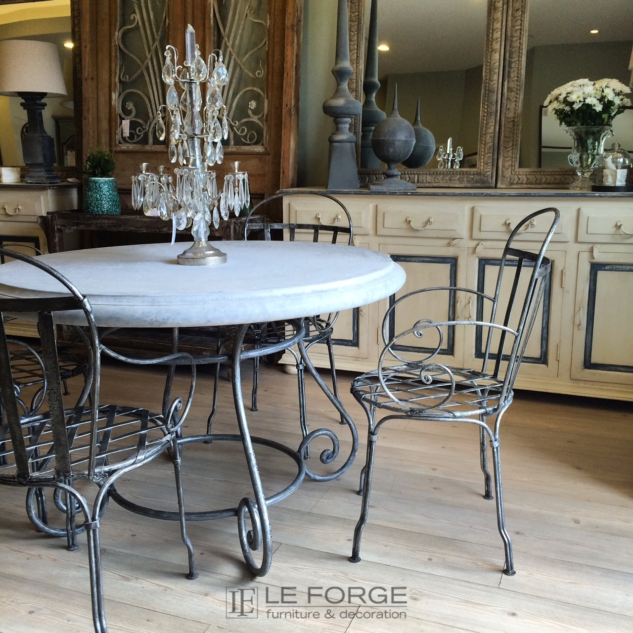 Tables Barney S Table Base Large Hand Forged Steel