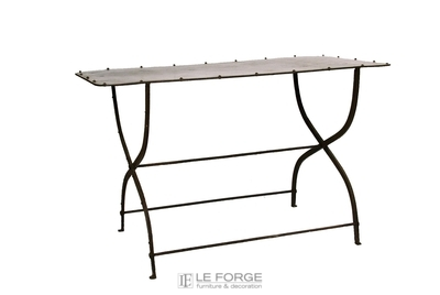 Console Gardeners Console Steel Wrought Iron